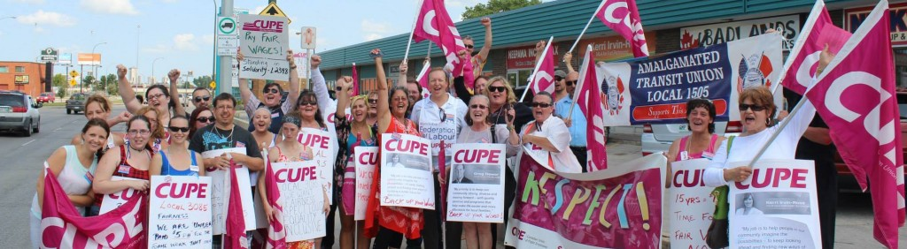 ATU 1505 supporting CUPE 3085